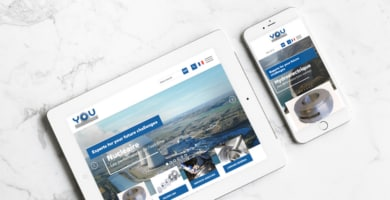 May 2018 : YOU Industrie launches its new website
